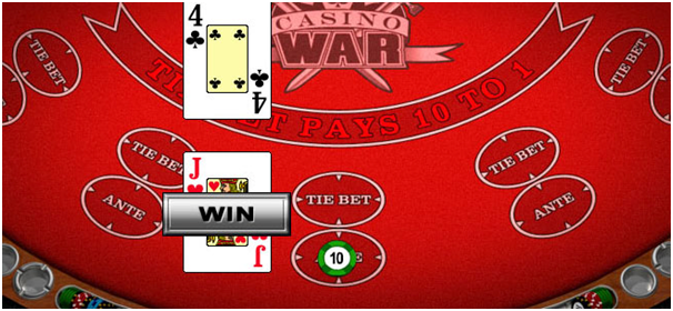 Casino War Strategy