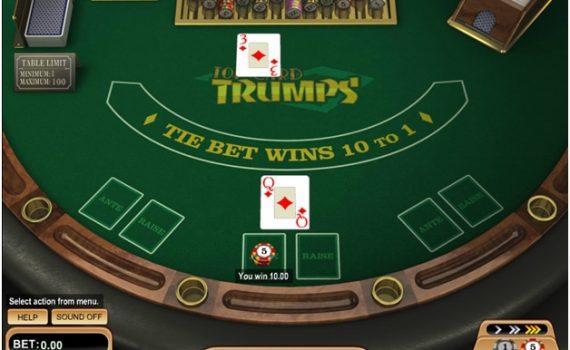 Casino war from Betsoft