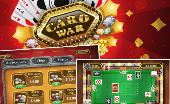 Casino War game apps