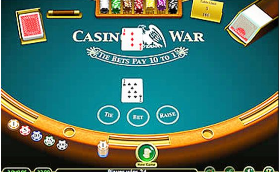 Casino war- best strategy