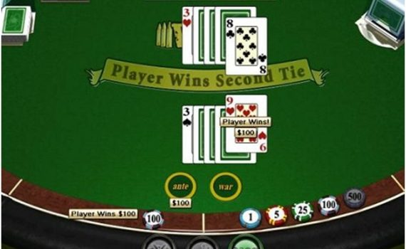 How to play casino war from RTG