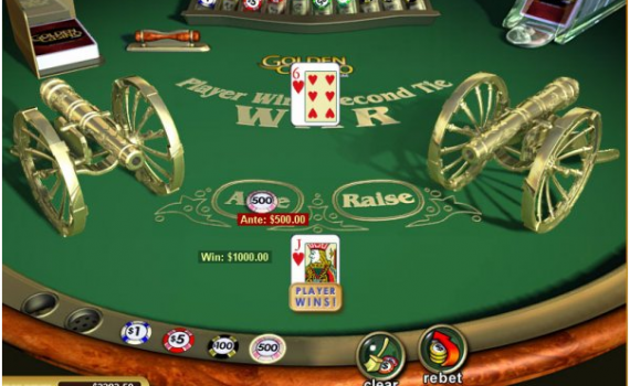 Where to play free casino war