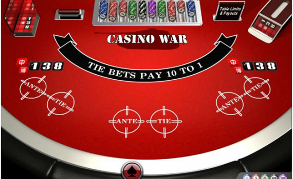 Where to play casino war for free in 2020?